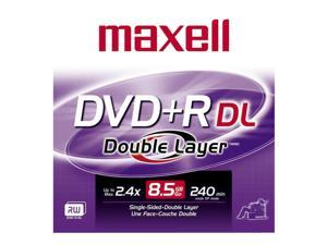 maxell 8.5GB 2.4X DVD+R DL Single Disc Model 634080