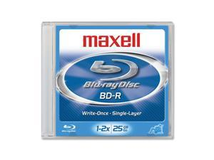 maxell 25GB 4X BD-R Single Media Model 631010