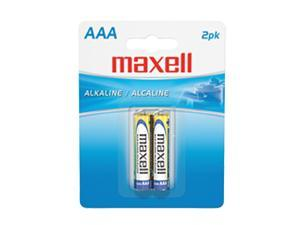 Maxell LR03 2BP AAA Gold Series Alkaline Battery Retail Pack - 2 Pack