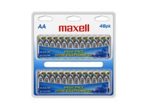 maxell 723443 48-pack AA Alkaline Batteries