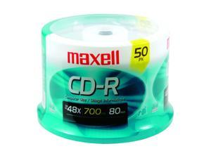 maxell 700MB 40X CD-R 50 Packs CD-R Media Model 623251/648250