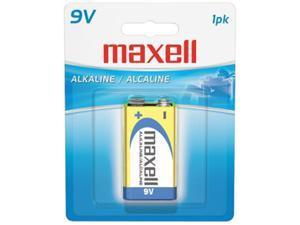 maxell 721110 - 6LF221BP 1-pack 9V Alkaline Alkaline Batteries