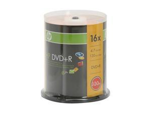 HP 4.7GB 16X DVD+R 100 Packs Disc Model 2041