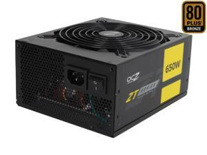 PC Power & Cooling ZT Series 650 Watt 80+ Bronze Fully-Modular Active PFC Performance Grade ATX PC Power Supply  (OCZ-ZT650W)