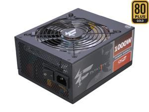PC Power & Cooling Fatal1ty Gaming Series 1000 Watt 80+ Gold Semi-Modular Active PFC Performance Grade ATX PC Power Supply ...