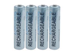 LENMAR PRO410B 4-pack 1000mAh AAA Ni-MH Rechargeable Batteries