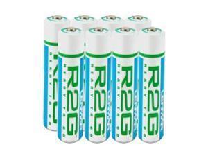 LENMAR R2GAAA8 8-pack 850mAh AAA Ni-MH Batteries