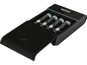 PowerEx MH-C204U Compact Charger with 4 Imedion AA 2400 mAh NiMH Batteries USB Power Bank
