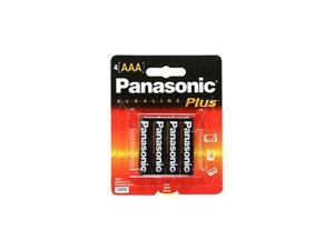 Panasonic Plus AAA Alkaline General Purpose Batteries 4 Pack