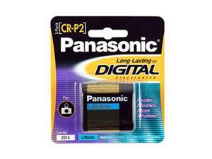 Panasonic CR-P2PA/1B 1-pack Photo Lithium Battery