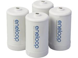 "Panasonic BQ-BS1E4SA eneloop ""D"" Spacers 4 Pack"