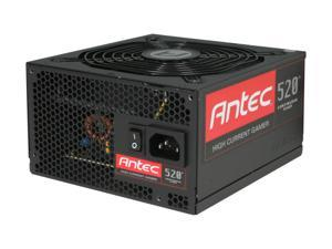 Antec High Current Gamer Series HCG-520 520W ATX12V v2.3 / EPS12V v2.91 80 PLUS BRONZE Certified Active PFC Power Supply