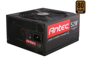 Antec HCG M Series HCG-520M 520W ATX12V / EPS12V SLI Ready CrossFire Ready 80 PLUS BRONZE Certified Modular Active PFC Power Supply - Intel Haswell Fully Compatible