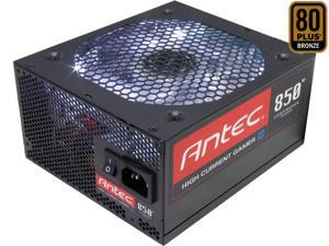 Antec HCG M HCG-850M 850W ATX12V SLI Ready CrossFire Certified 80 PLUS BRONZE Certified Modular Active ...
