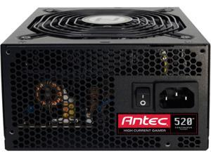 Antec High Current Gamer HCG-520 - power supply 0-761345-06205-3 520W ATX12V v2.3 / EPS12V 2.91 80 PLUS BRONZE Certified Active PFC Power Supply