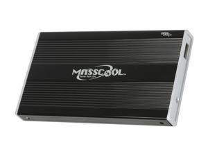 """MASSCOOL UHB-UE212 2.5"""" SATA USB 2.0 External Enclosure"""