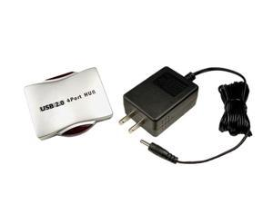 Cables Unlimited USB-1800P 4 Port Mini USB 2.0 Hub with Power