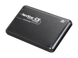"Vantec NexStar CX 2.5"" SATA to USB 2.0 External Hard Drive/SSD Enclosure (Supports 7mm, 9.5mm, 12.5mm HDD/SSD) - Model NST-200S2-BK"