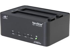"Vantec NexStar NST-DP100S3 standalone SATA 2.5"" & 3.5"" Hard Drive Duplicator Dock with USB 3.0"