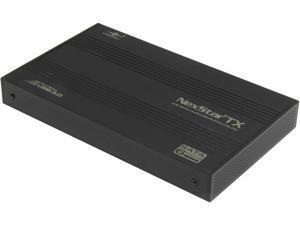 """VANTEC NST-216S3-BK 2.5"""" Black SATA I/II/III USB 3.0 2.5"""" SATA 6 Gb/s to USB 3.0 HDD Enclosure - Black"""