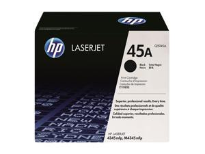 HP 45A Black LaserJet Toner Cartridge (Q5945A)