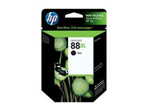 HP 88XL Black Officejet Ink Cartridge(C9396AN#140)