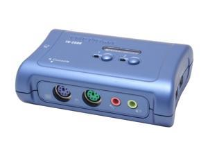 TRENDnet TK-208K 2-Port PS/2 KVM Switch Kit w/ Audio