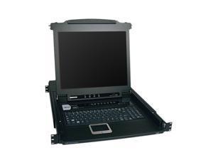 "TRIPP LITE B020-008-17 8-Port NetDirector 1U Rackmount Console KVM Switch w/17"" LCD"