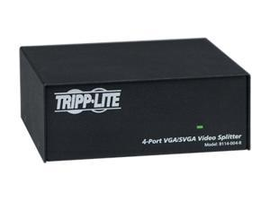 Tripp Lite VGA/SVGA 350MHz Video Splitter - 4 Port (HD15 M/4xF) B114-004-R B114-004-R