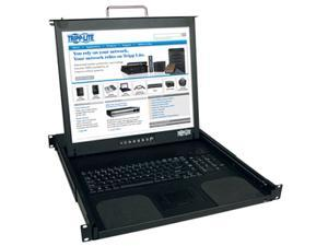 "TRIPP LITE B021-000-19-SH 1U Short-Depth Rackmount Console with 19"" LCD"