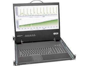 "TRIPP LITE B021-000-19-SH 1U Short-Depth Rackmount Console with 19"" LCD"