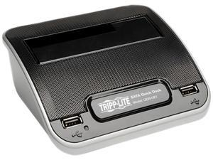 "Tripp Lite U239-UE1 2.5"" & 3.5"" Black USB2.0 / eSATA to SATA Hard Drive Quick Dock"