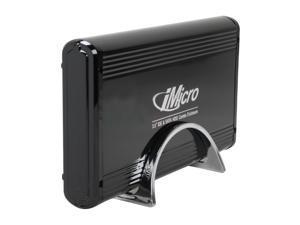 "iMicro IMBS35G-BK 3.5"" Black IDE / SATA USB 2.0 External Enclosure"
