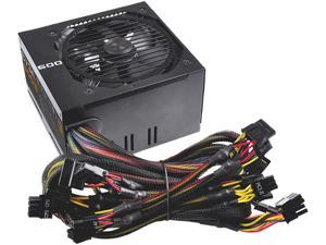 EVGA 600B 100-B1-0600-KR 600W ATX12V / EPS12V 80 PLUS BRONZE Certified Power Supply