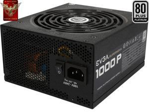 EVGA SuperNOVA 1000 PS 220-PS-1000-V1 80+ PLATINUM 1000W Fully Modular EVGA ECO Mode Includes FREE Power On Self Tester Power Supply