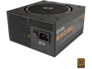 EVGA 650 BQ 110-BQ-0650-V1 80+ BRONZE 650W Semi Modular Includes FREE Power On Self Tester Power Supply