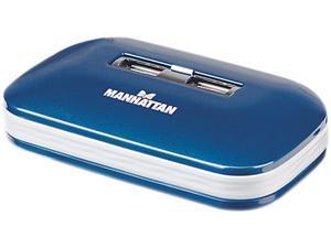 MANHATTAN 161039 7 Ports Hi-Speed USB 2.0 Ultra Hub