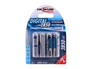 Ansmann 5035092 4-pack AA Ni-MH 2850mAh Rechargeable Batteries
