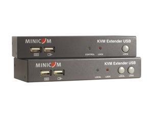 Minicom by Tripp Lite 0DT60001 KVM Extender USB local port + 2-Port KVM TAA GSA