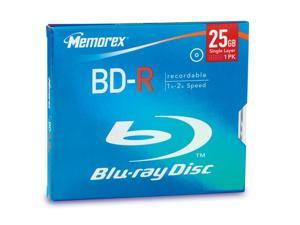 memorex 25GB 4X BD-R Single Disc Model 97850