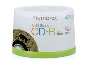 memorex CD-R LightScribe 50 Packs Media Model 4550
