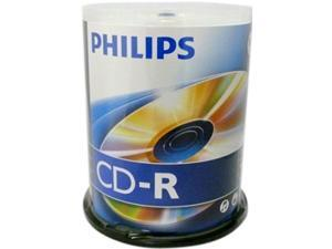 PHILIPS 700MB 52X CD-R 100 Packs Disc Model CDR80D52N/650