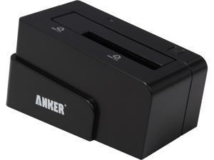 """Anker 68UPSHDDS-BU 2.5"""" & 3.5"""" Black SATA I/II/III USB 3.0 & eSATA External Enclosure"""