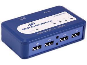 B&B USB Over Ethernet Server, 4 Port
