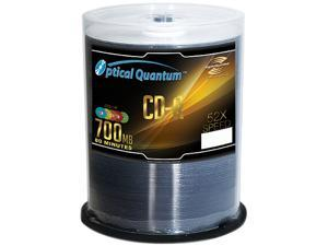 Optical Quantum 700MB 52X CD-R Color LightScribe 100 Packs Disc Model OQCDR52CRLS