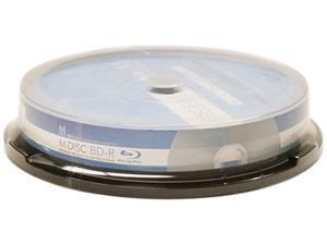 Vinpower Digital 25GB 4X BD-R 10 Packs Blu-ray Blank Disc Model MDBDR04WIP-10