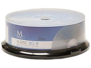 Vinpower Digital 25GB 4X BD-R 25 Packs Blu-ray Blank Disc Model MDBDR04WIP-25