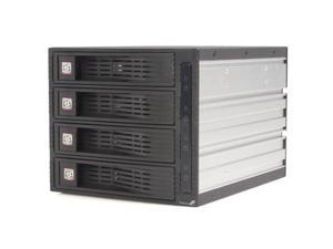 StarTech HSB430SATBK 4 Drive 3.5in Trayless Hot Swap SATA Mobile Rack Backplane