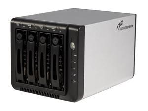 StarTech SAT3540ER Silver InfoSafe 4 Drive eSATA External SATA Multi RAID HD Enclosure