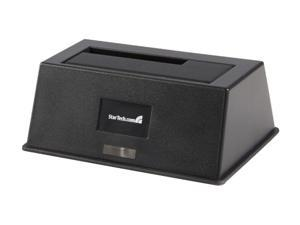 "StarTech SATADOCKU2 2.5"" & 3.5"" Black USB 2.0 External HDD Dock"